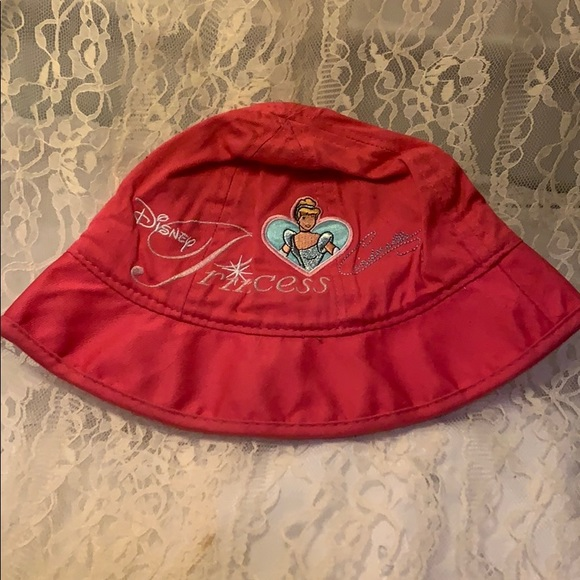 Disney Other - Princess Summer Hat Pre Owned Pink